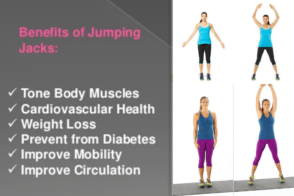 Benefits of a jumping jack