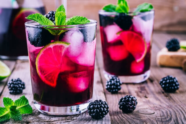 Blueberry-Lavender-Water